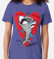 Shark To My Tornado Tri-blend T-Shirt