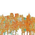 Buffalo, New York Skyline - Rost von Marlene Watson