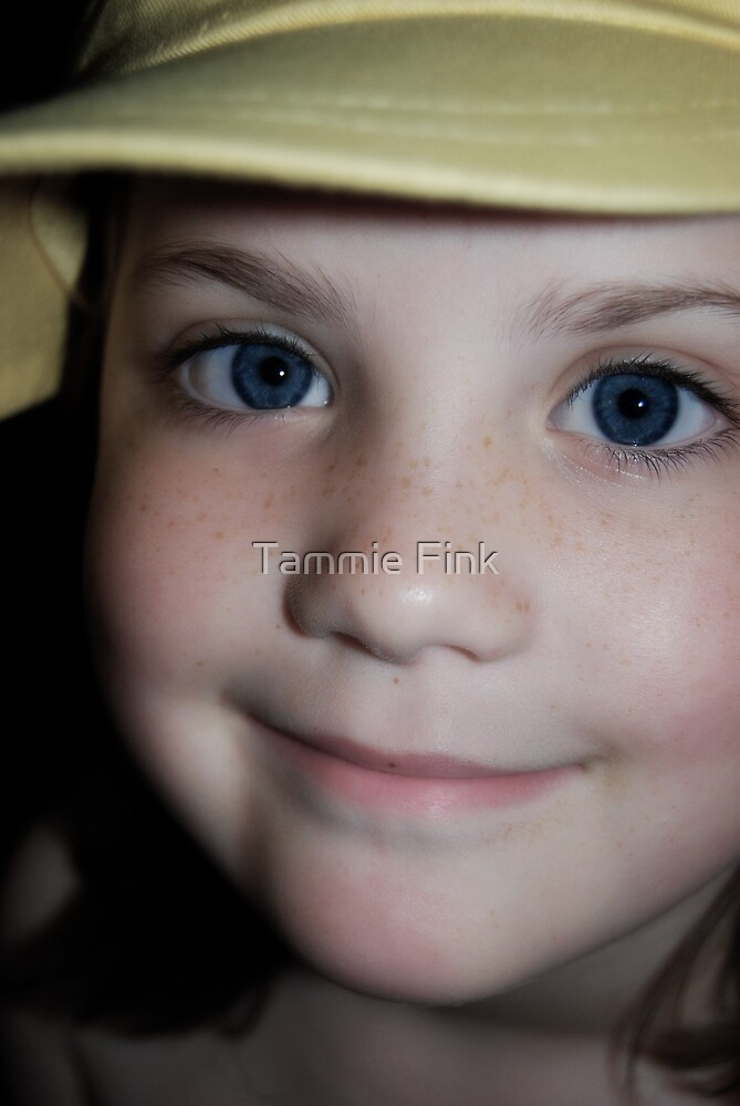 My yellow Cap by Tammie Fink
