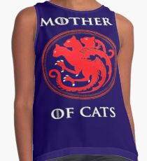 MOTHER OF CATS-GAME OF THRONES Contrast Tank