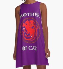 MOTHER OF CATS-GAME OF THRONES A-Line Dress