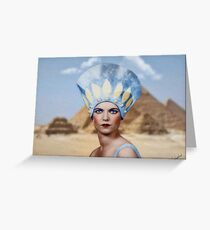 The Egyptian Queen Greeting Card