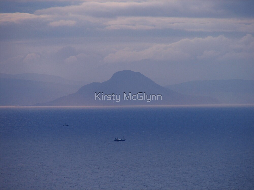 My Blue World by Kirsty McGlynn