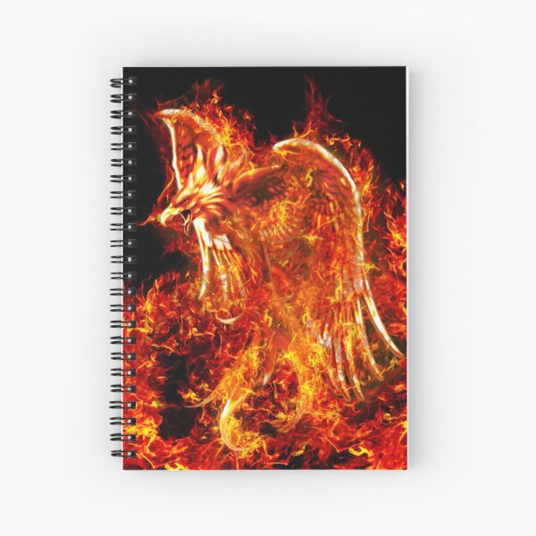 Firebird Spiral Notebook