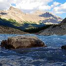 Rockies River view Down Low by Robert Goulet