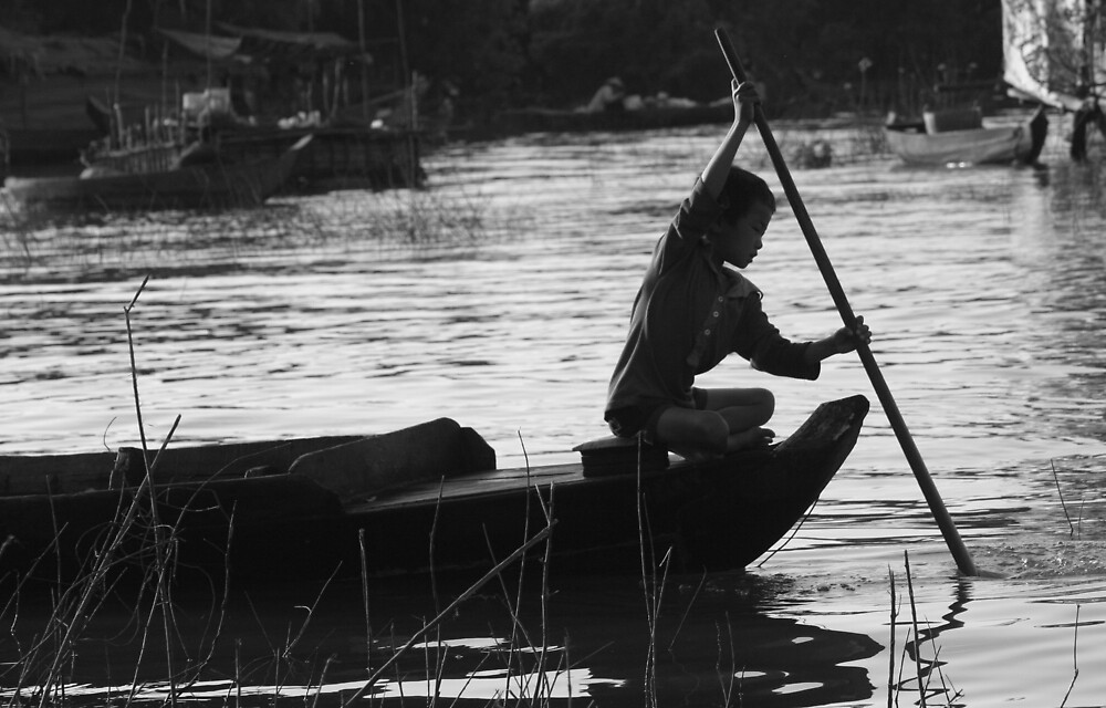 Life on the Tonle Sap by caitlinevans