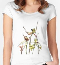 Orchids of Australia 4 Women's Fitted Scoop T-Shirt