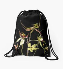 Orchids of Australia 4 Drawstring Bag