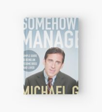 The Office - Somehow I Manage Hardcover Journal