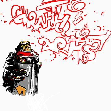 graffiti artist by satotz