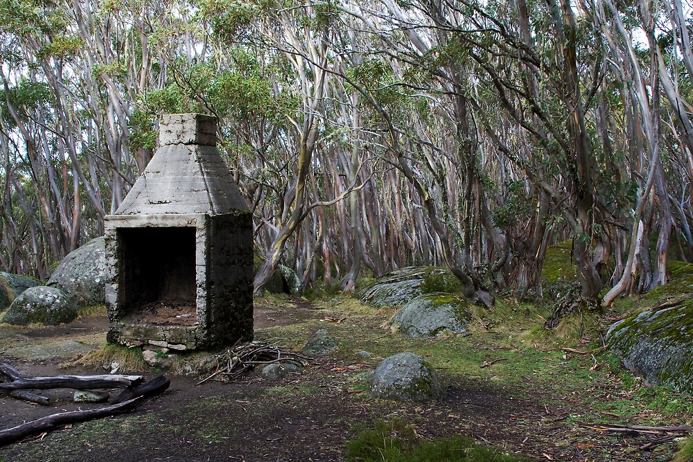 Hut Ruin, Mt Erica by Andrew Klym