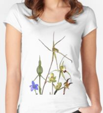 Orchids of Australia 2 Native orchids of Western Australia Fitted Scoop T-Shirt