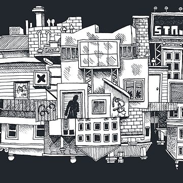 This Town (inverse White) by awcomix