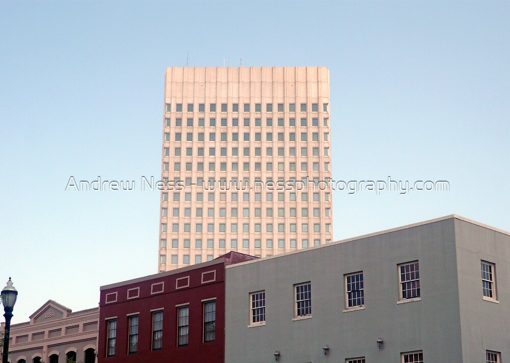A Contrast of Architecture by Andrew Ness - www.nessphotography.com