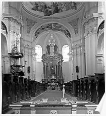 Virgin Mary Visitation Church, Hejnice, Czech Republic Poster