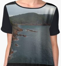 Tasmanian ocean side  Women's Chiffon Top