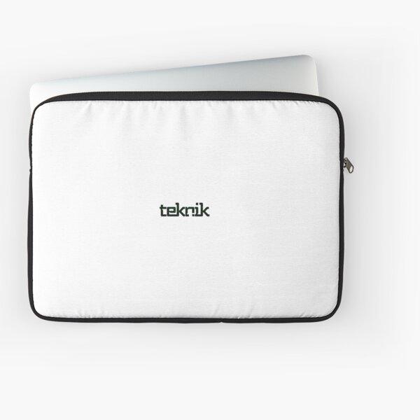 Hacker Teknik Logo Laptop Sleeve