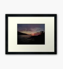 Sunrise of the life time Framed Print