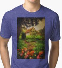 To The Tulips Tri-blend T-Shirt