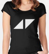 avicii music Women's Fitted Scoop T-Shirt