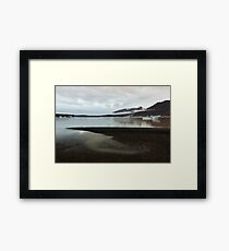 Skaftafell Glacier Lake Framed Print