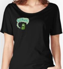 Pickle Rick Pocket Pal Women's Relaxed Fit T-Shirt