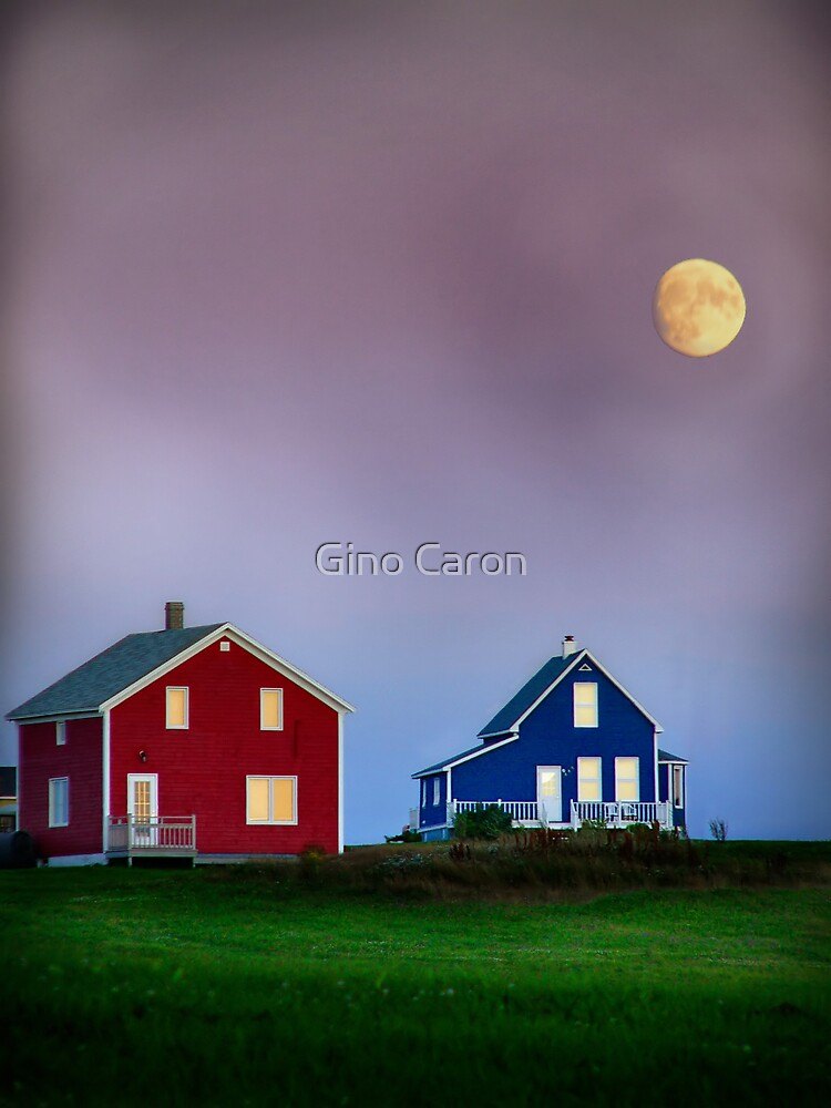 End of day in colors by Gino Caron