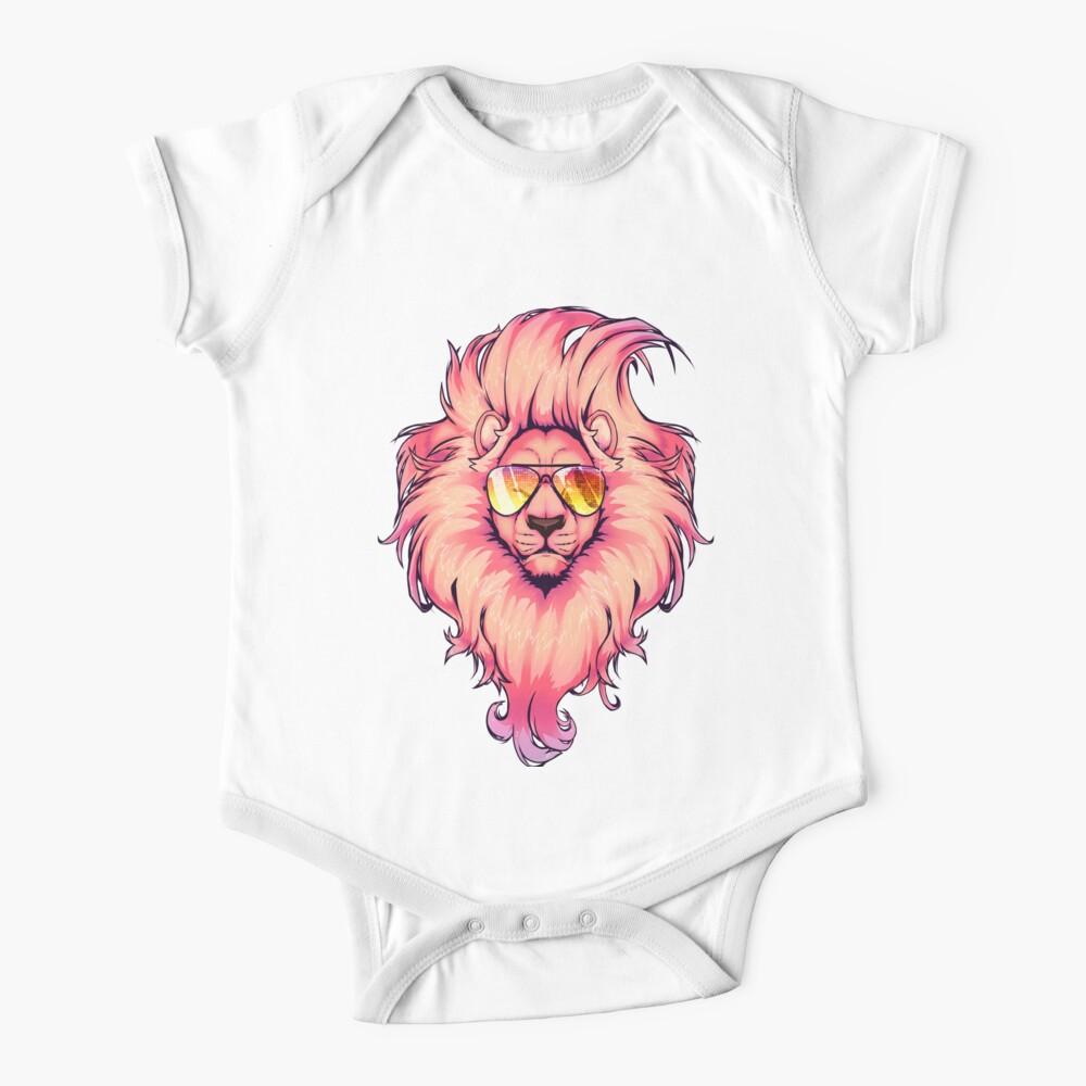 Summer Lion  Baby One-Piece