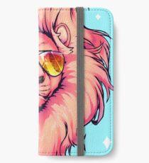 Sommerlöwe iPhone Flip-Case/Hülle/Klebefolie