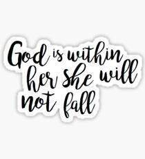 Psalm 46:5 Sticker