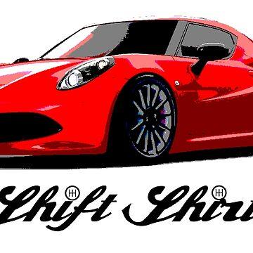 Less Than A Ton - Alfa Romeo 4C Inspired by ShiftShirts