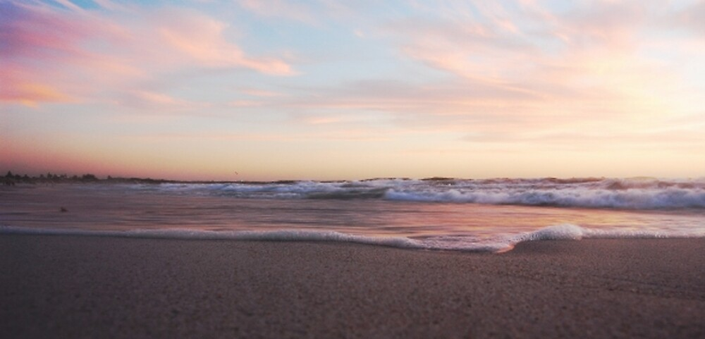 Beach at Dusk by Nadirehs