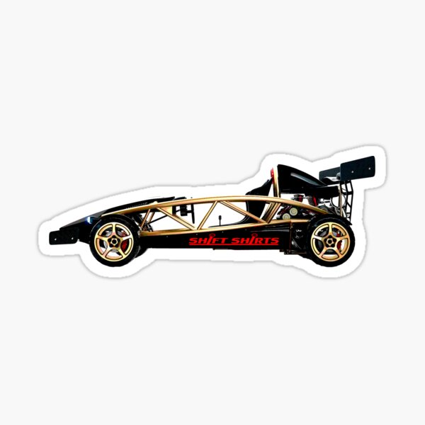 Subtract Weight - Ariel Atom Inspired Sticker