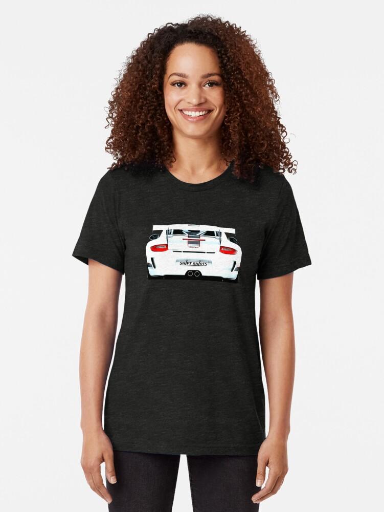 Alternate view of Ultimate Version – Porsche 911 GT3 997 Inspired Tri-blend T-Shirt