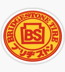 Bridgestone Tire Vintage DECAL Sticker