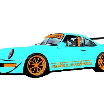 Livery RWB - Porsche 911 Rauh Welt Inspired by ShiftShirts