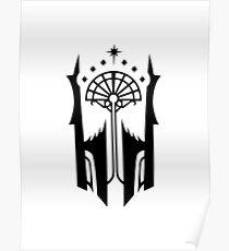 Shadow of Mordor Black Gate Sigil Poster