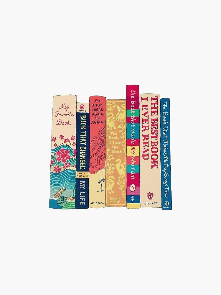 los libros esenciales de stickersnstuff