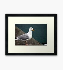 Thinking... Framed Print