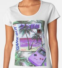 Gameboy Vaporwave Women's Premium T-Shirt