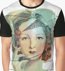 Mrs. Magritte's Brain Graphic T-Shirt