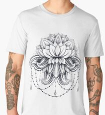 ornamental Lotus Men's Premium T-Shirt