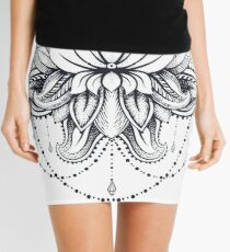 ornamental Lotus Mini Skirt