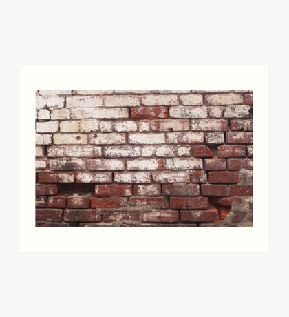 Broken Wall 1 Art Print