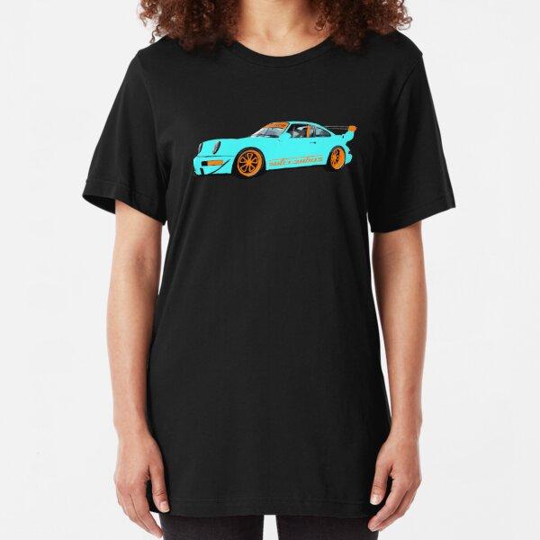 Livery RWB - Porsche 911 Rauh Welt Inspired Slim Fit T-Shirt