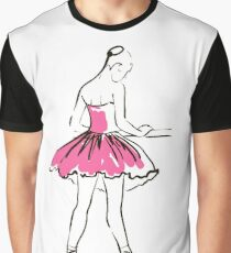 sketch of girl's ballerina  Graphic T-Shirt