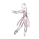 Skizze der Ballerina des Mädchens von OlgaBerlet