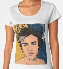 SUN MOON DOLAN  Women's Premium T-Shirt