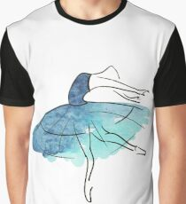 ballerina figure, watercolor Graphic T-Shirt