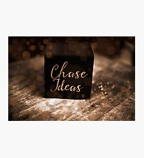 Chase Ideas Cube of Inspiration! Photographic Print